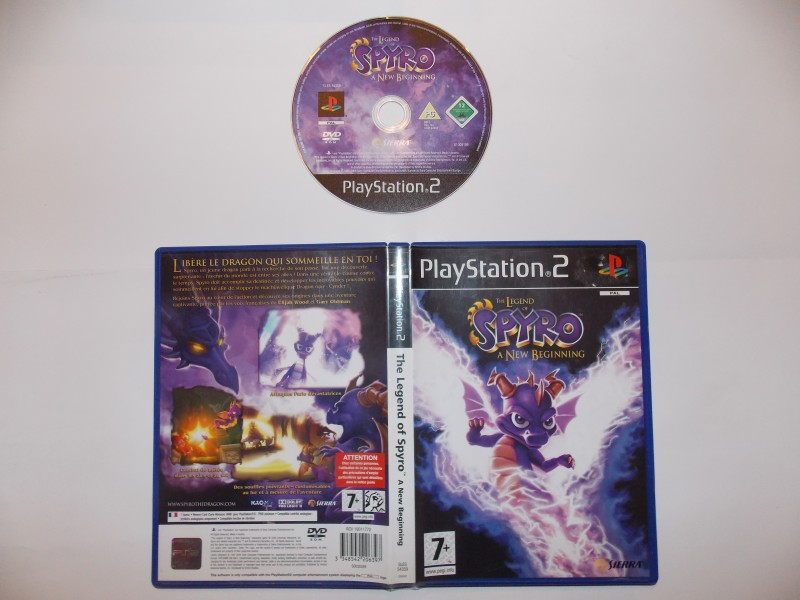 The Legend of Spyro A New Beginning 543517Playstation2AlegendofSpyroanewbeginning