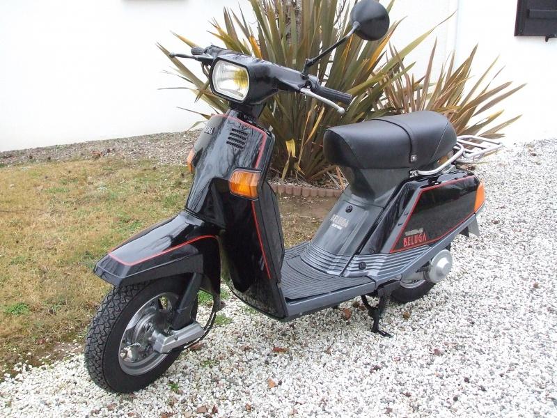Un petit scooter Japonais , le Yamaha 80 Béluga de 1982... 545106Yamaha80Bluga1987restaur001