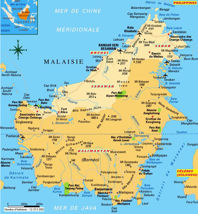 1961 Borneo Airways Ltd : L'Ile de Bornéo sous Flight Simulator par Michel Lagneau 547456Capture
