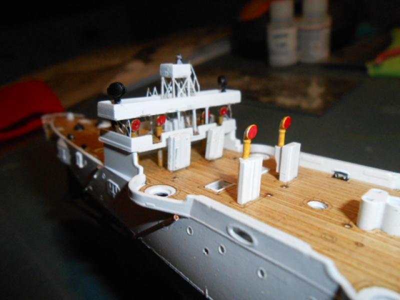 "Croiseur  Russe ""VARYAG"" Zvezda 1/350 pont en bois / PE  547707bat002"