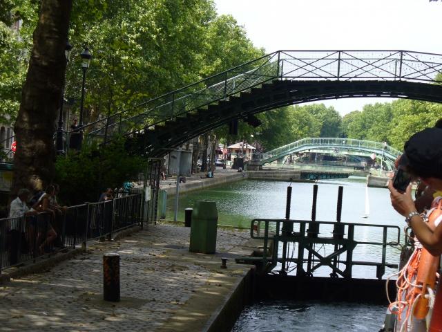 Balade sur le canal St MArtin à PAris (75) 549184P1070509