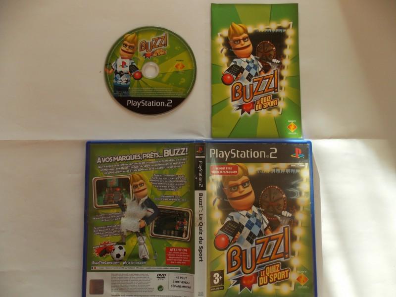Buzz! : Le Quizz du Sport 550321Playstation2Buzzlequizzdusport