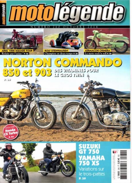 Tu aimes les Norton Commando et les 3 pattes d'époque.... 550350motolegende