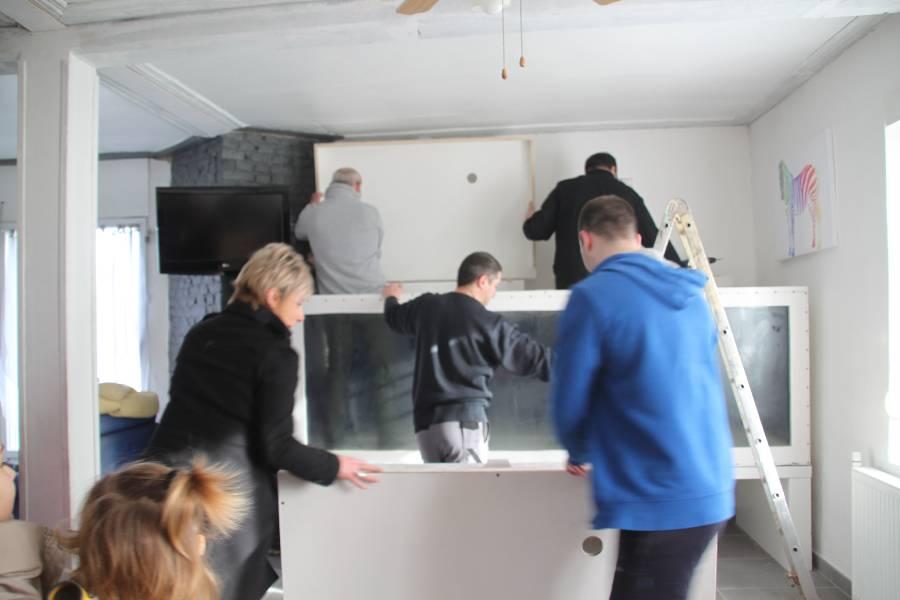 réalisation d'un aquarium en bois de 2000L 550534PXRIMG0014