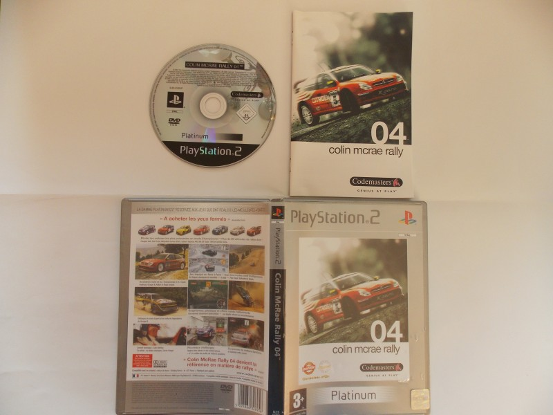 Colin McRae Rally 4 551655Playstation2ColinMcRaeRally2004Plat