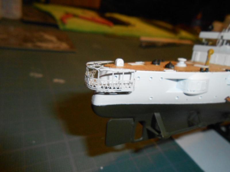 "Croiseur  Russe ""VARYAG"" Zvezda 1/350 pont en bois / PE  554873bat003"