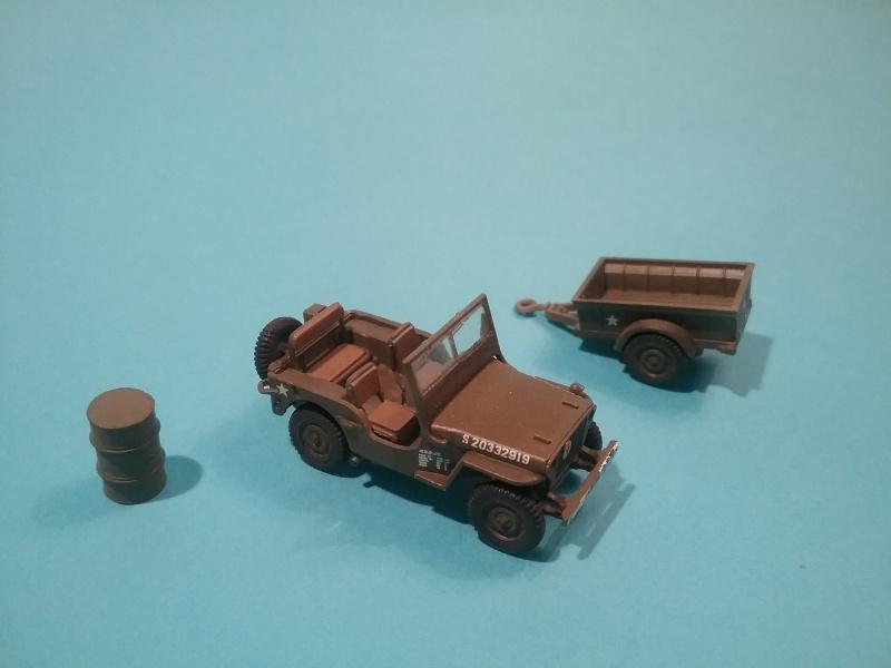 Heller - US 1/4 ton truck & trailer - 1/72 55666920151211jeep1