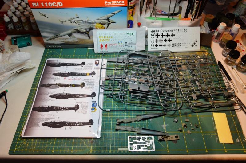 Nightfighter Germany 1940 : Bf110 C Maj Falck Commodore NGJ1 556918OK2807151
