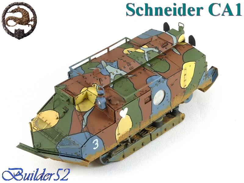 CHAR SCHNEIDER CA 1 - HOBBY BOSS 1/35 557570P1040961