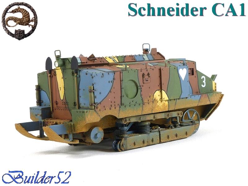 CHAR SCHNEIDER CA 1 - HOBBY BOSS 1/35 558034P1040959