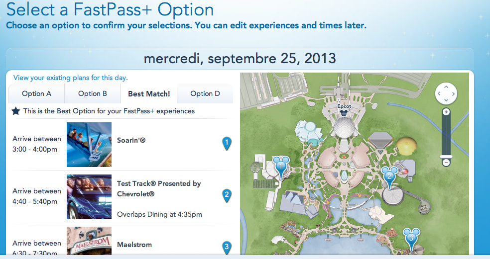 MyMagic+: FastPass+, MyDisneyExperience et MagicBands [Walt Disney World Resort] - Page 5 559609Capturedcran20130820000840