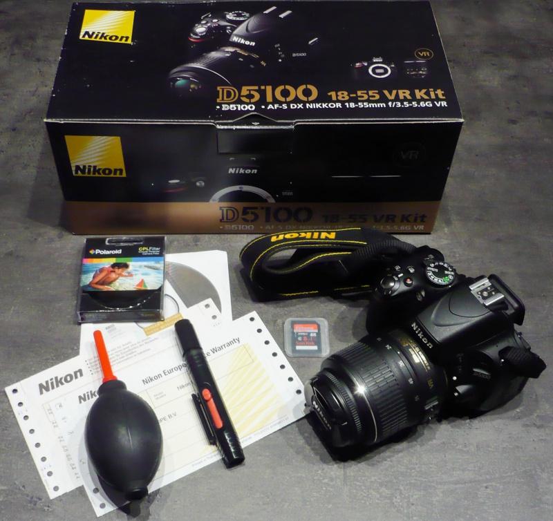 Vendu Reflex Nikon + objectifs + micro 560389P1030559
