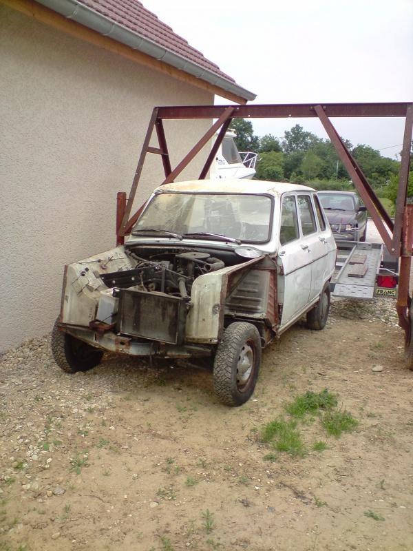 Ma restauration Renault Rodéo 6 561153P2305091933