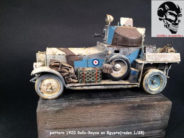 Pattern 1920 Rolls-Royce MK1 en Egypte - (Roden 1/35) 561520finROLS004