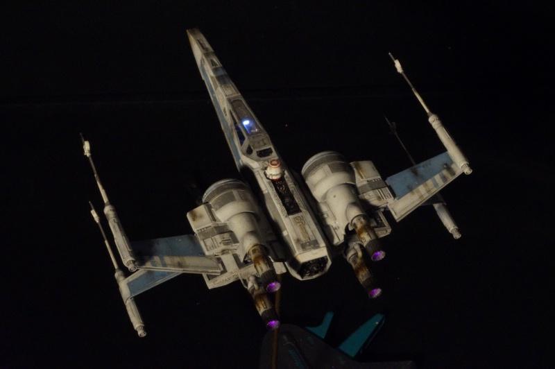 "X-Wing ""Resistance"" T-70 Bandaï 1/72 561885DSC01549"