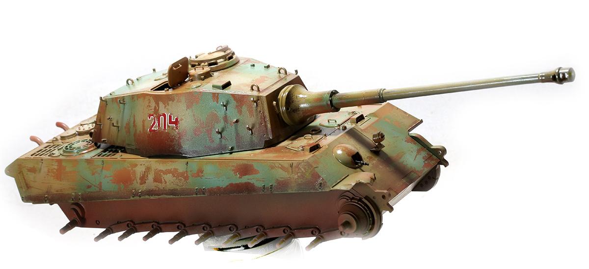 King Tiger  TAMIYA 1/35 562431KTigerwb08