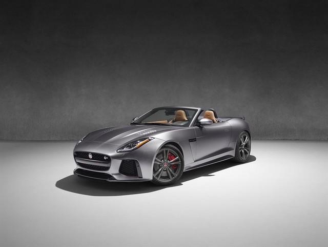Nouvelle Jaguar F-TYPE SVR : La Supercar Capable D'atteindre 322 km/h Par Tous Les Temps 563713JAGUARFTYPESVR51CONVERTIBLEStudioLowRes