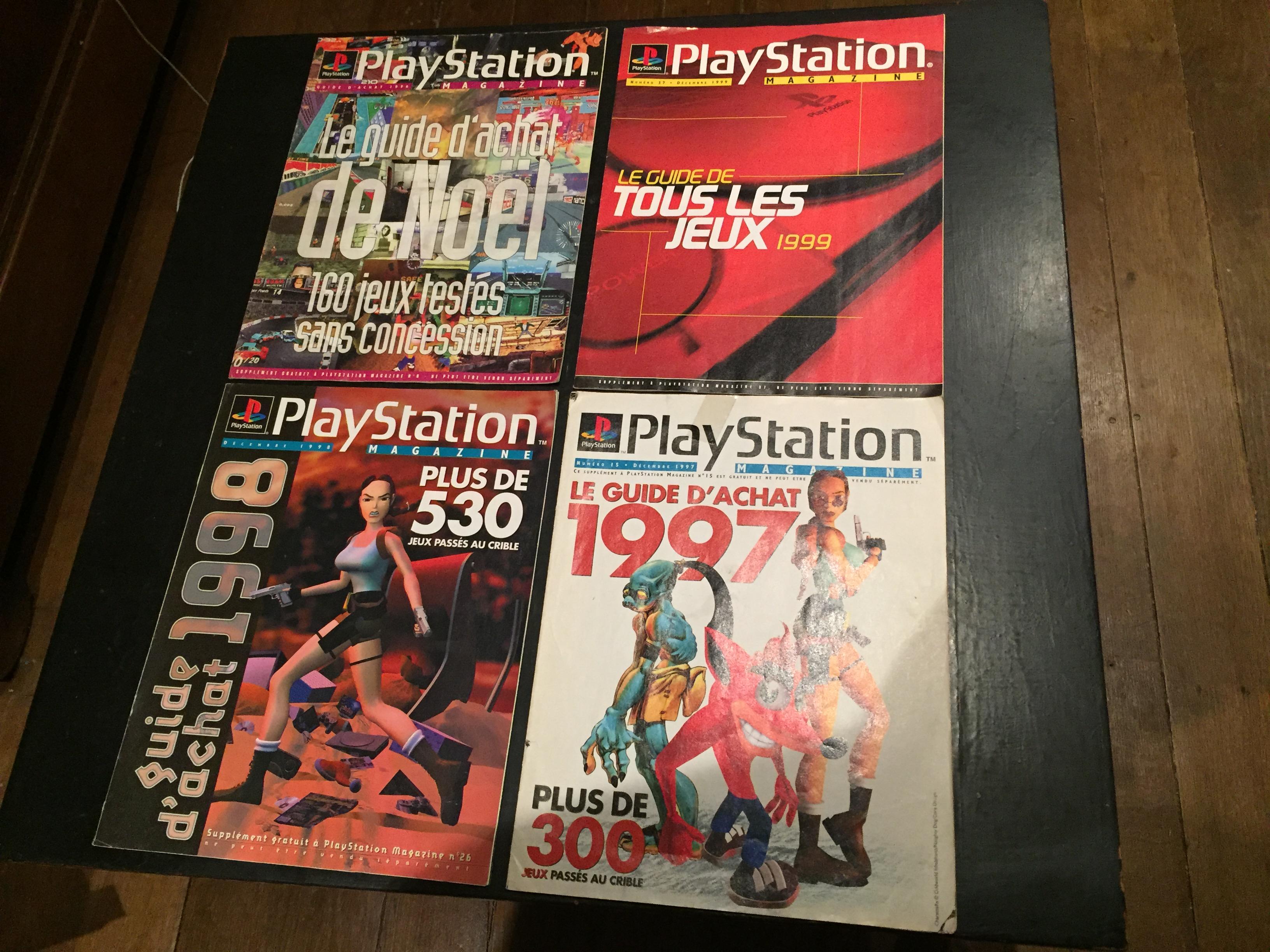 Mini magazine : Playstation Les meilleurs jeux  563782IMG0821