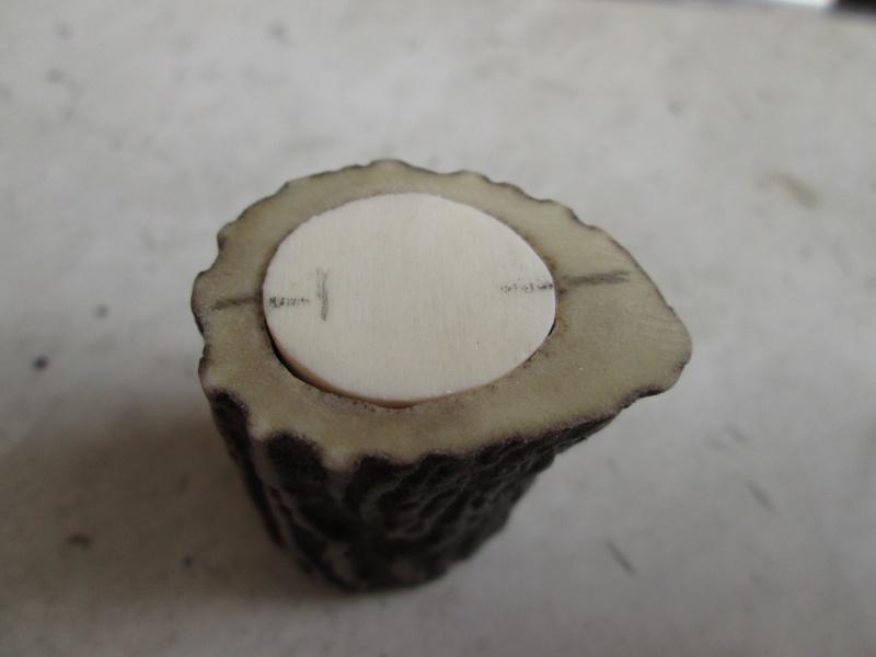 Création blaireau bois de cerf 565527IMG5300