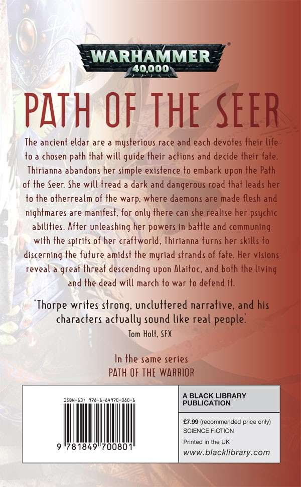 Path of the  Seer (La Voie du prophête) de Gav Thorpe 565905pathoftheseer