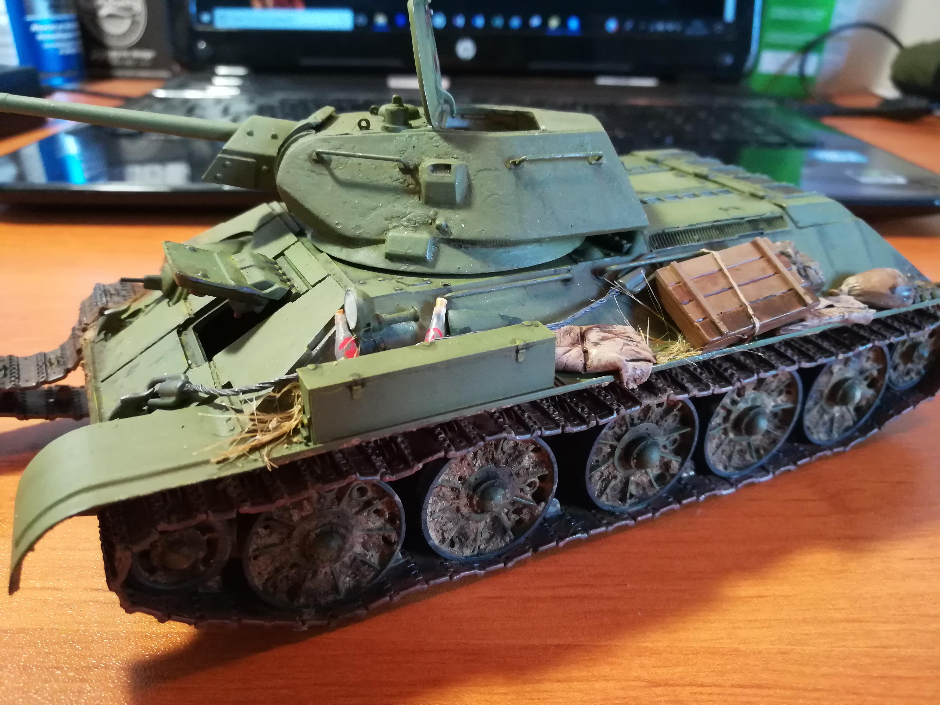 Front de l'Est, 1942 - T34 et Wehrmacht - Zvezda - 1/35 - Page 2 567020IMG20171208143114