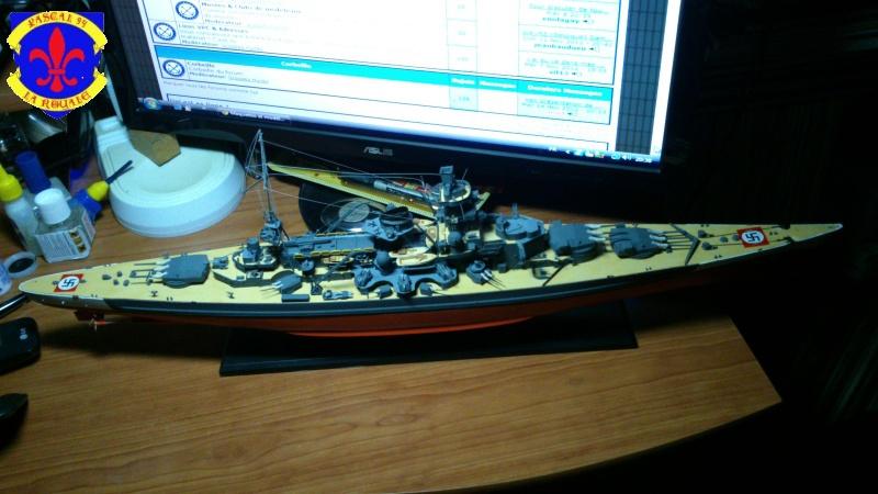 Croiseur de bataille Scharnhorst  au 1/350 de dragon - Page 7 567515DSC0042L