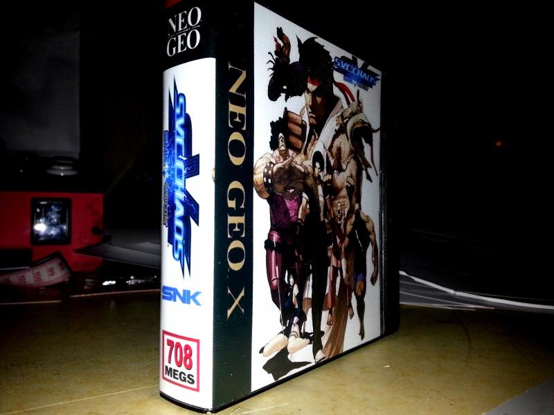 Insert neo geo x pour boites neogeo pocket 56752920130201092900
