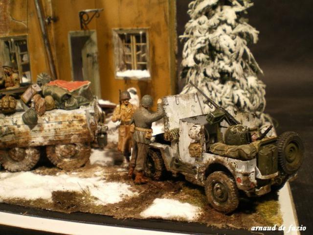M20 Tamiya et jeep blindée Dragon - 1/35 Ardennes 570334IMGP1703