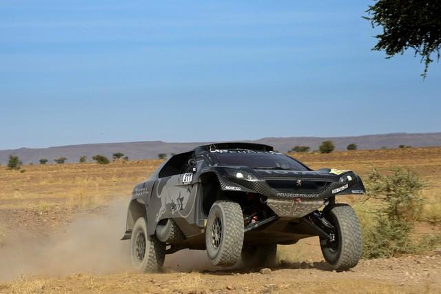 Team Peugeot Total : Rallye du maroc / ETAPE 1 : Boucle de Zagora 57035756129a81ef22f