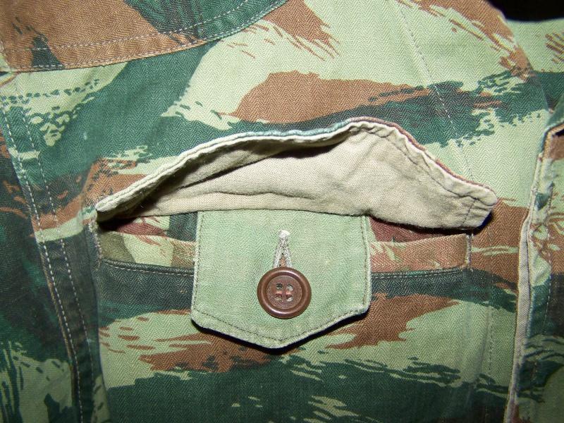 veste camouflée TTA 47/52 allégée et modifiée 5713261008403