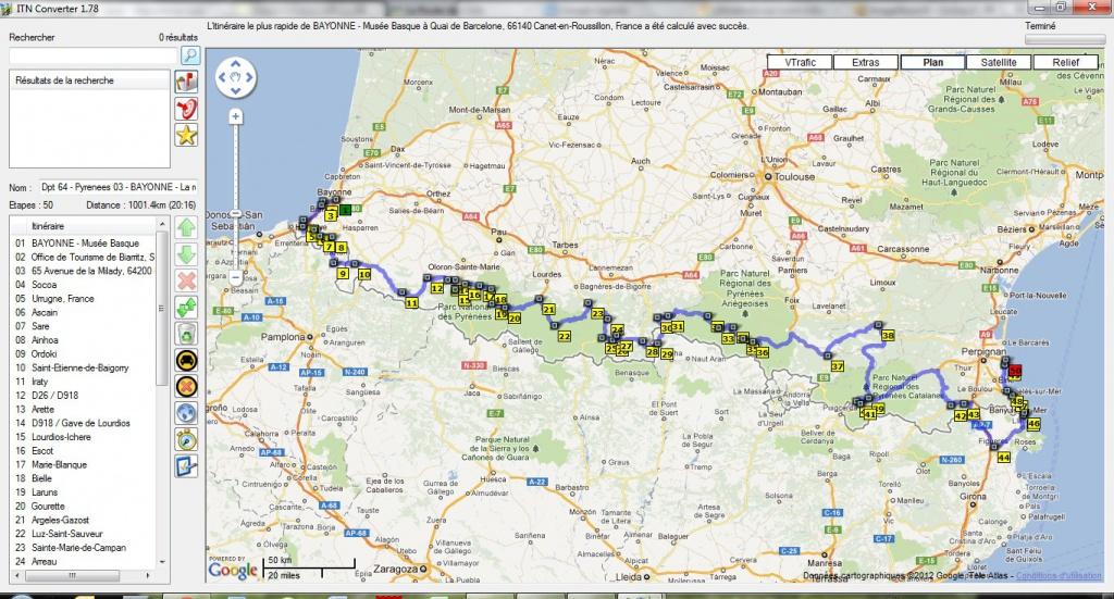 Préparation - LES PYRÉNÉES D'OUEST EN EST-10 jours en Sept 2012 571628FullOuestEst1001km