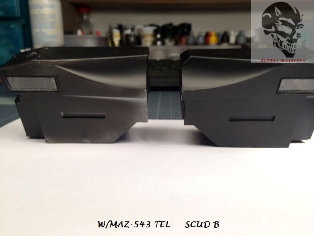 W/MAZ -543 TEL  SCUDB  maquette dragon 1/35 572098IMG4321