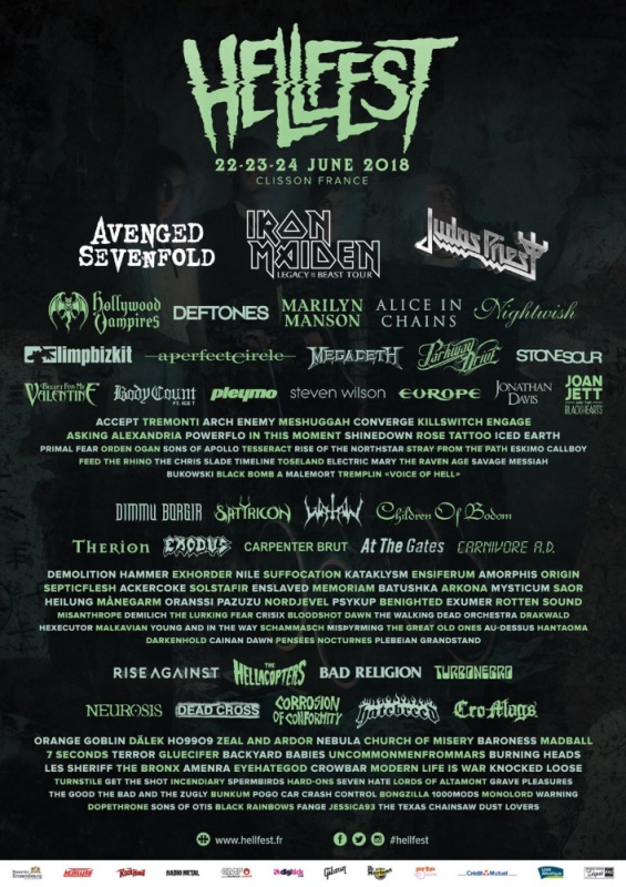 HELL FEST 2018 - Page 2 572694HellFest2018