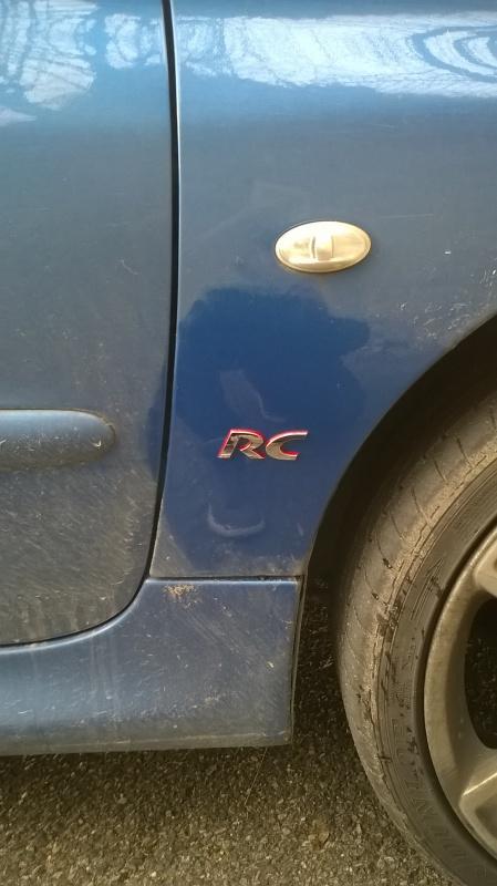 [BoOst] Peugeot 206 RCi de 2003 574813logo