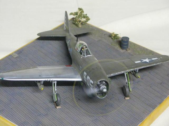 Restauration P-47 Lt Raymond Knight 1/48 Monogram  574859IMG6068