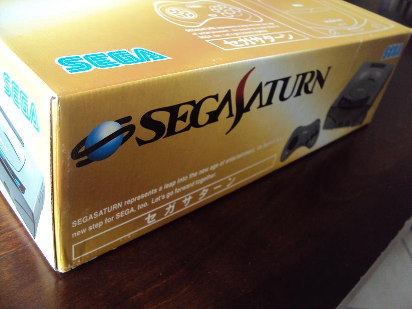 [Vds] Console sega saturn V1 japan HST-0001 en boite + 3 jeux 576406DSC04505