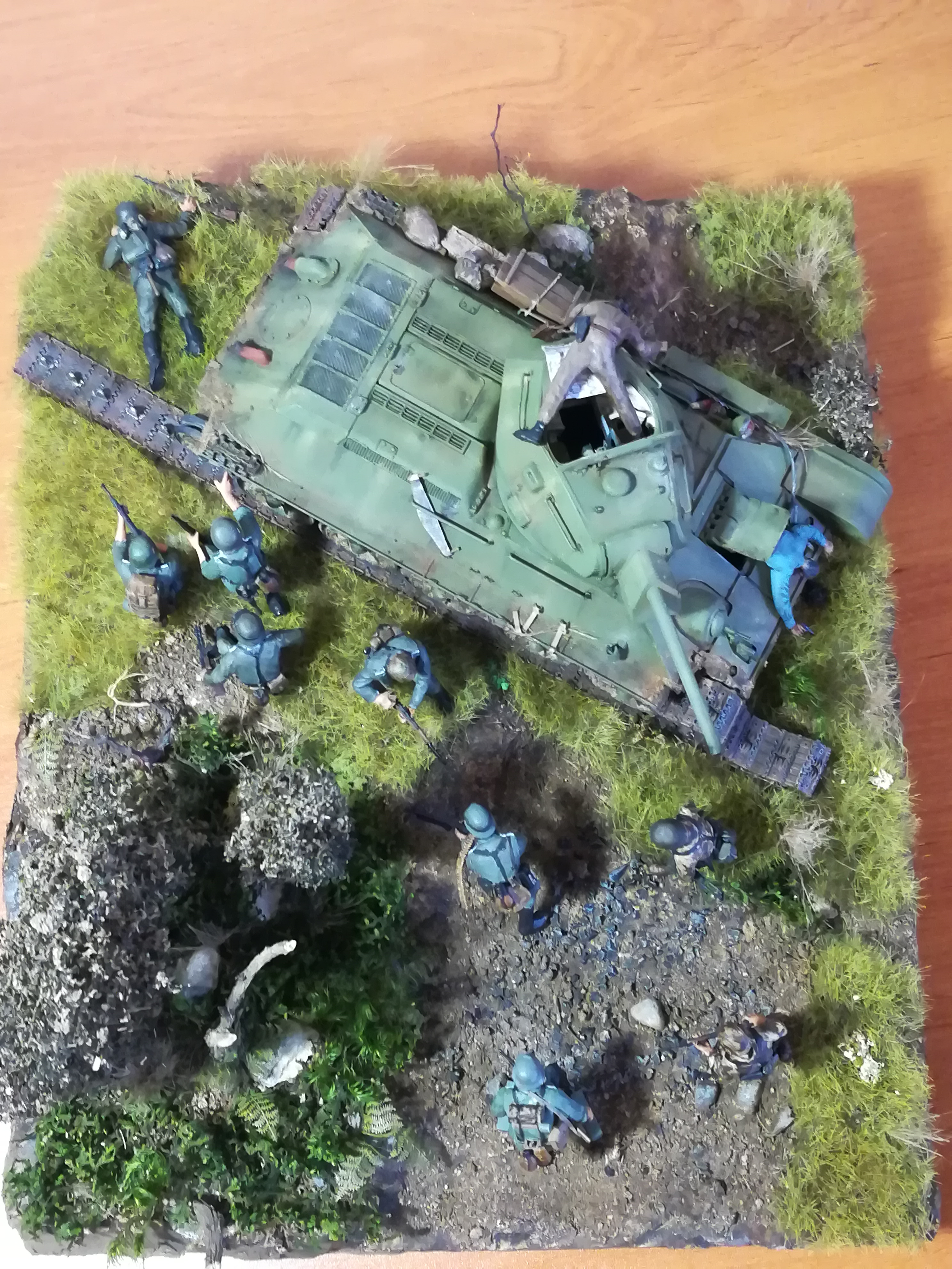 Front de l'Est, 1942 - T34 et Wehrmacht - Zvezda - 1/35 - Page 2 577962IMG20171219141433