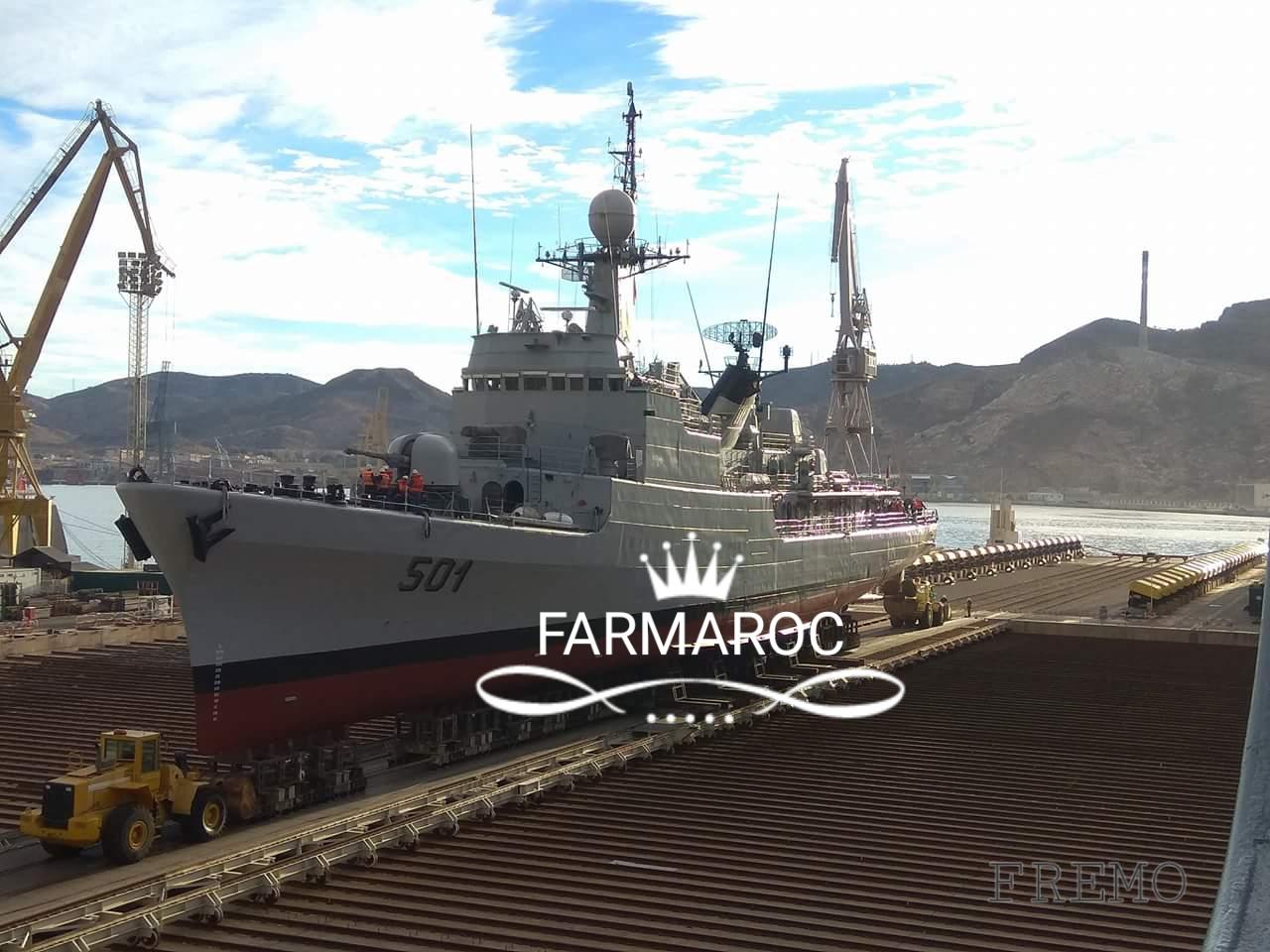 Royal Moroccan Navy Descubierta Frigate / Patrouilleur Océanique Lt Cl Errahmani - Bâtiment École - Page 3 57834420171229105908