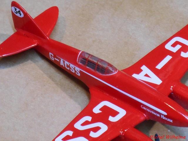 DE HAVILLAND D H88 kit Airfix 1959 580232DSCN9417Copier