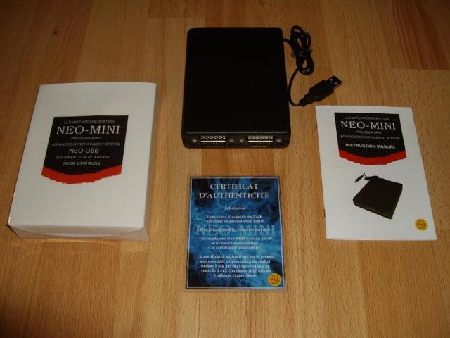 Neo-Mini - Adaptateur de manette pour PC 580405PackCollectorTGSNeoMini