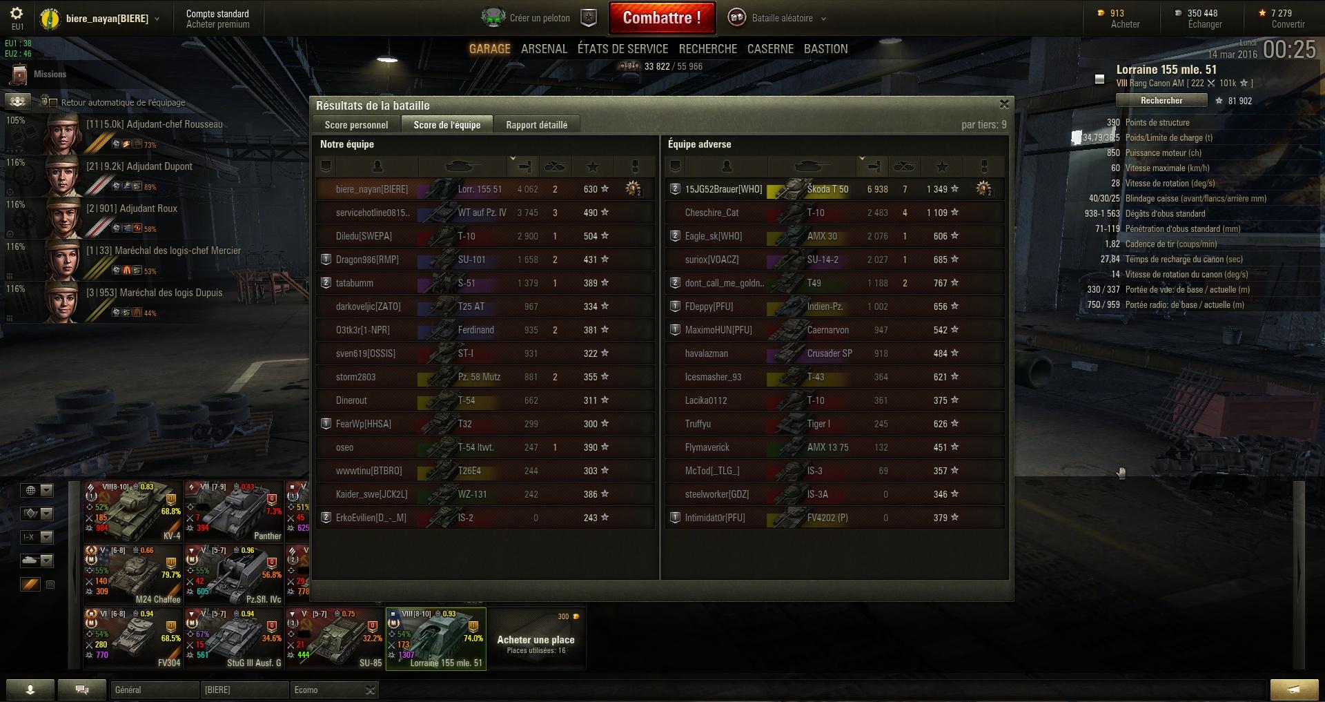 Screenshots et rapports de batailles - Page 2 580911shot010