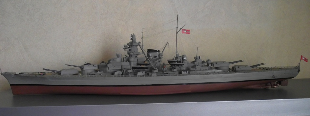 Collection Kriegsmarine 580941TirpitzTamiya1x35032