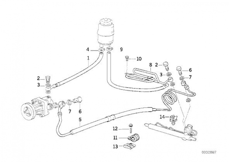 [BMW E36] Défaut d'étanchéité du vase de direction assistée 581484Schmahydraulique