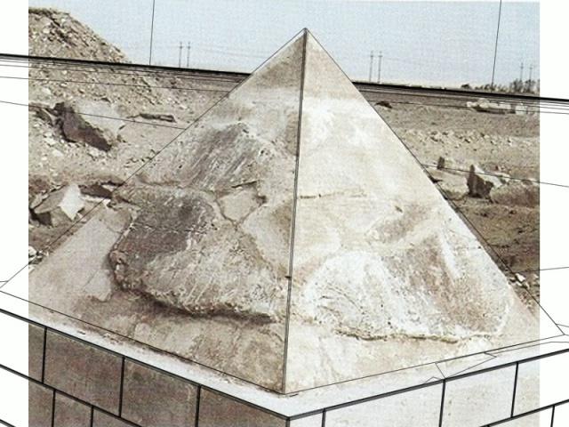 La révélation des pyramides - Page 28 581629vuephoto7Pyramide110cmDessin