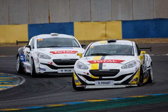 RCZ RACING CUP - Nicolas Milan et David Pouget dos à dos au Mans 58186357d4fd9702136