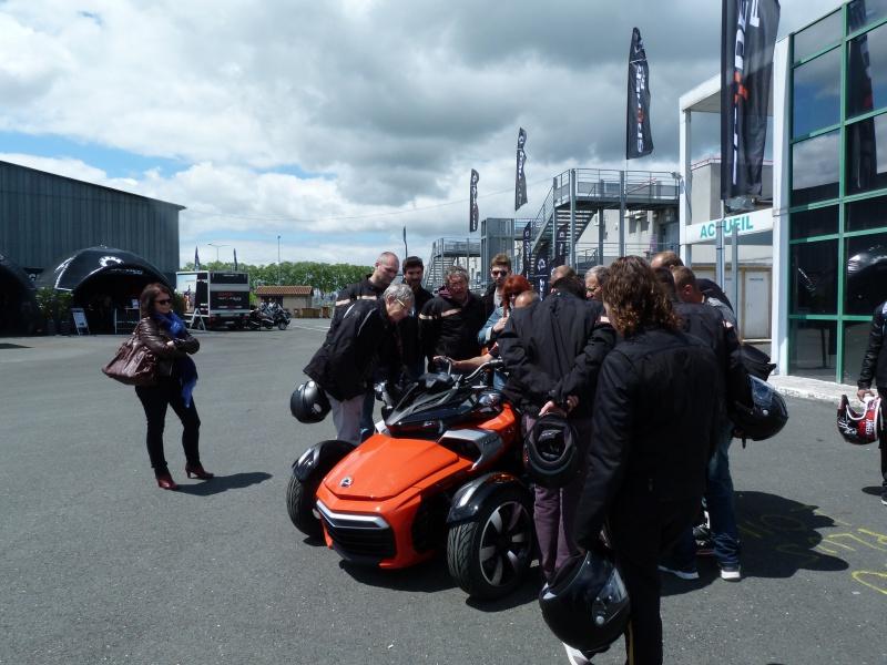CR & Photos : TSO 17/05/15 : Essai du Can Am SPYDER F3-S et du RT-Limited 584267P1170655