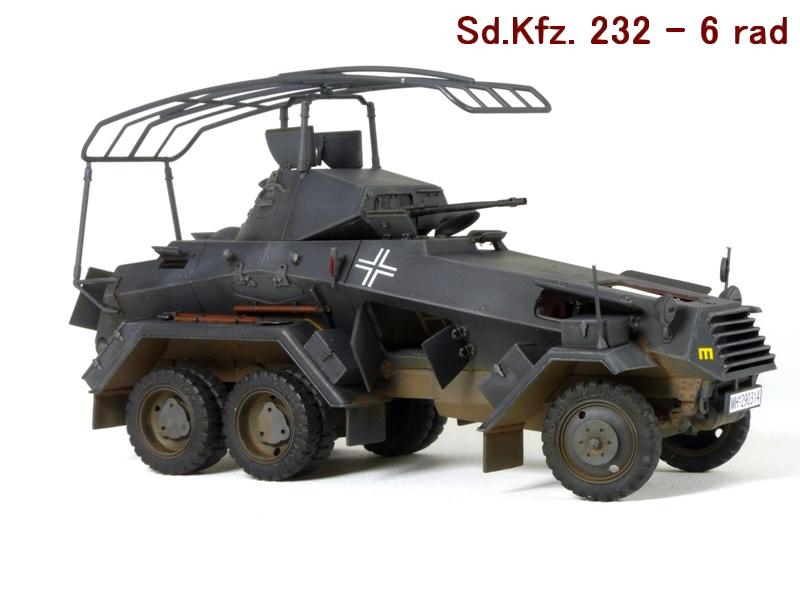 Sd.Kfz. 232 6 Rad - France 1940 - Italeri 1/35 584557P1040007