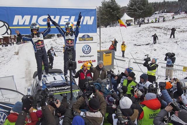 Troisième victoire en Suède pour Sébastien Ogier / Julien Ingrassia  584978hd012016wrc02dr40094