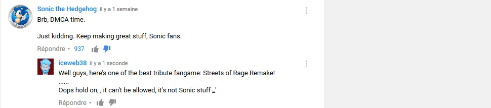 The Random Blabber Topic - Page 29 585104youtubecomment