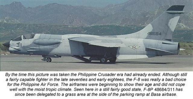 VOUGHT F-8 CRUSADER  589463VoughtF8PPhillipines